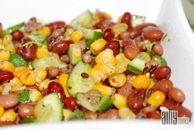 RED BEANS AND MIX VEGETABLES SALAD