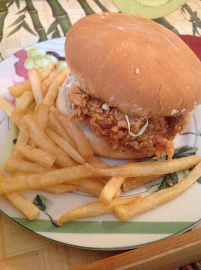 Kfc Zinger Burger Ainy Cooks