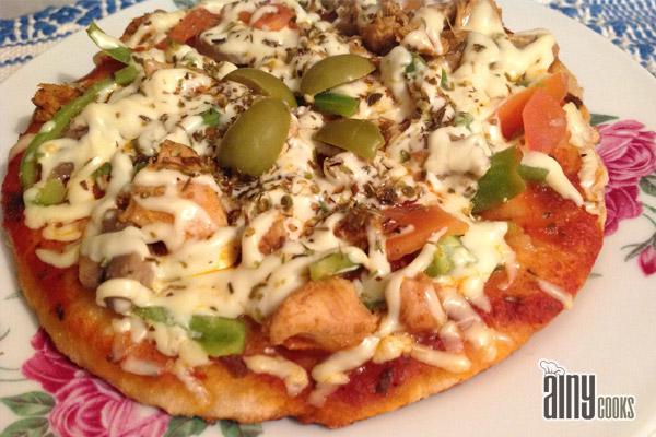 STOVE TOP WHOLE WHEAT PIZZA