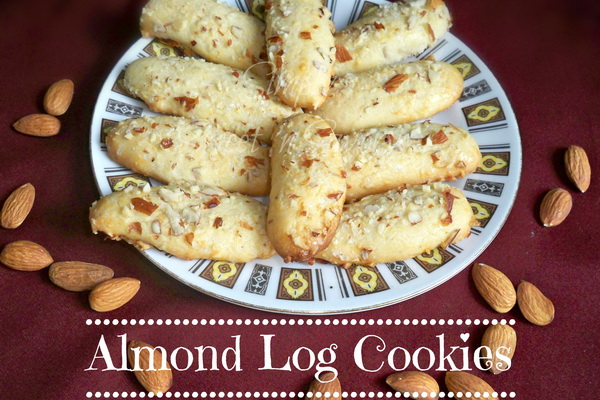 Almond Log Cookies2
