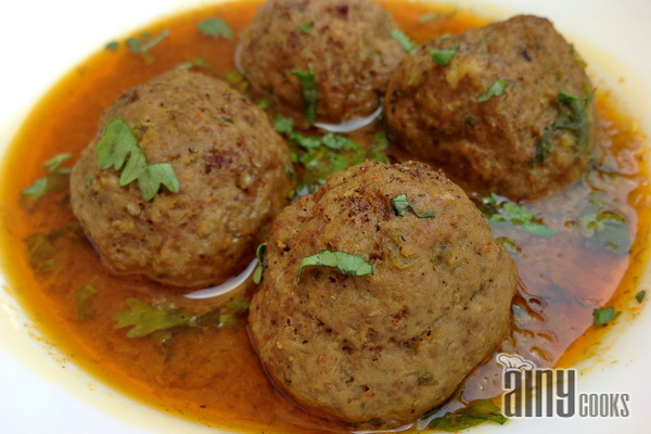 kofta curry main