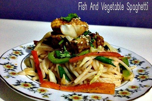 fish spagetti