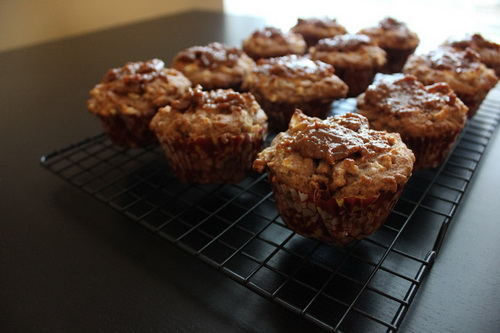caramel-apple-muffins