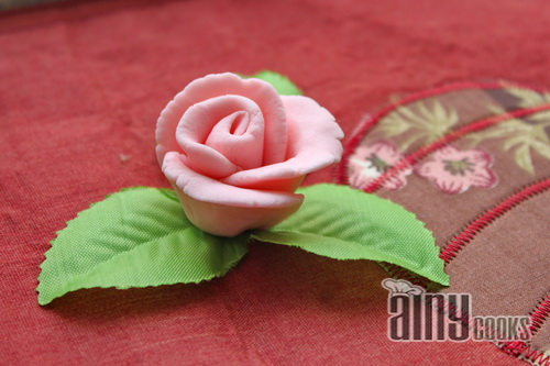 how to make small fondant flowers without cutters