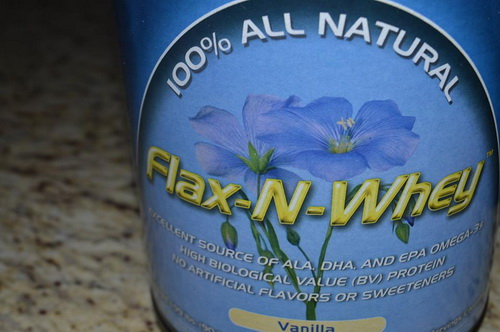 flax whey