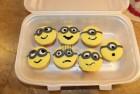 minion cupcake f