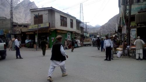 life in skardu bazar