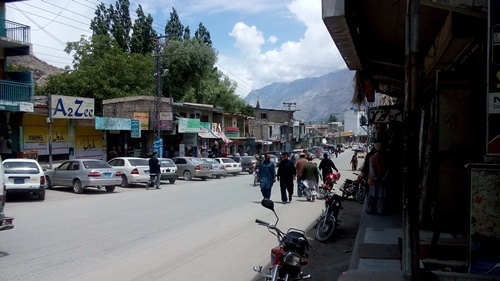 life in skardu new bazar