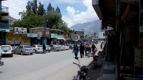 life in skardu new bazar