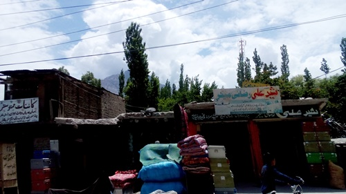 life in skardu old bazar1