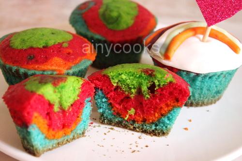 rainbow cupcake dd