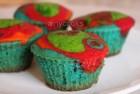 rainbow cupcakes f