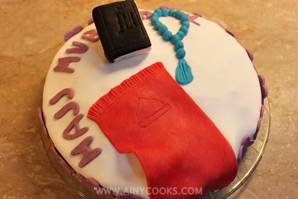 almond cake Hajj mubarak m
