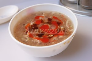 sweet n sour soup f