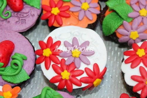spring cupcakes d2