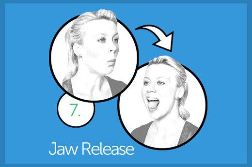 facial exercise 6