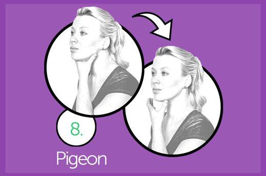 facial exercise 8