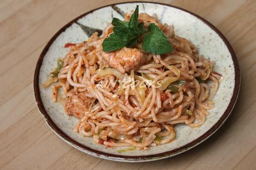 Restaraunt style noodles d