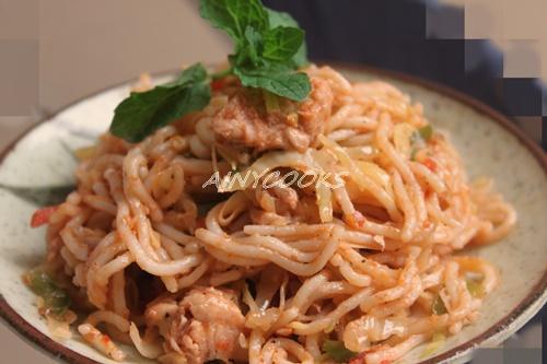 Restaraunt style noodles dd
