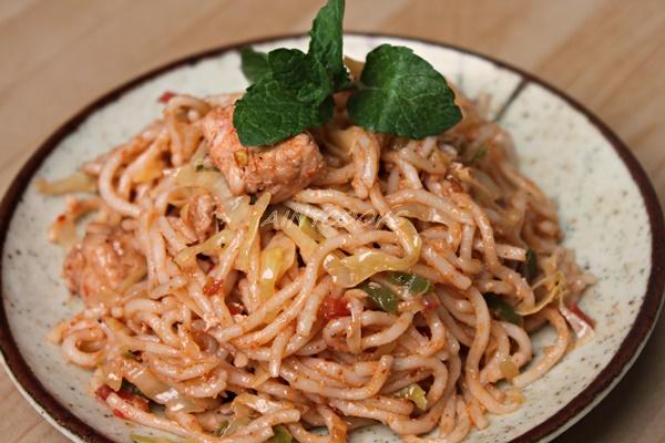 Restaraunt style noodles m