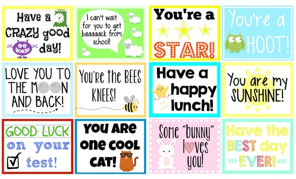 Free-printables-Cute-little-notes-to-go-into-your-kids-school-lunch