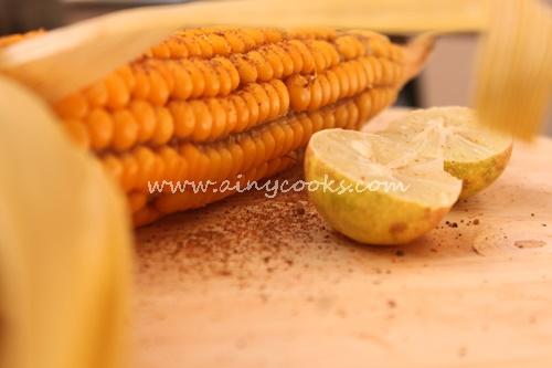 Masala corn 1