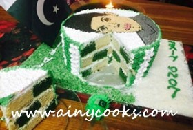 INDEPENDENCE DAY QUAID E AZAM CAKE