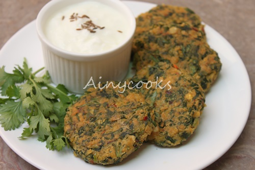 spinach kebab d