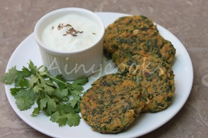 spinach kebab f