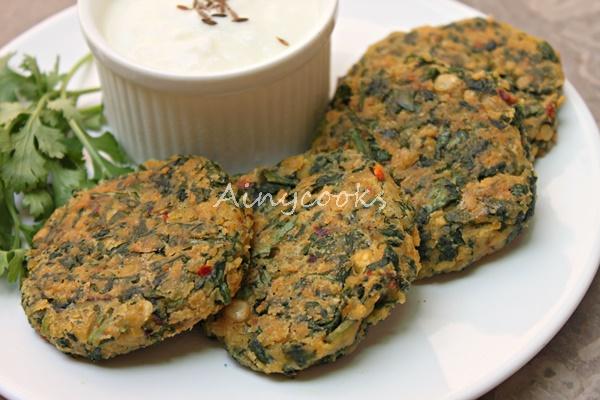 spinach kebaba m