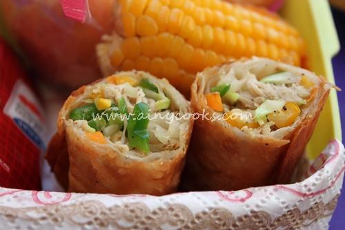 corn rolls up d