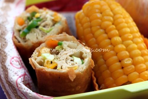 corn rolls up dd