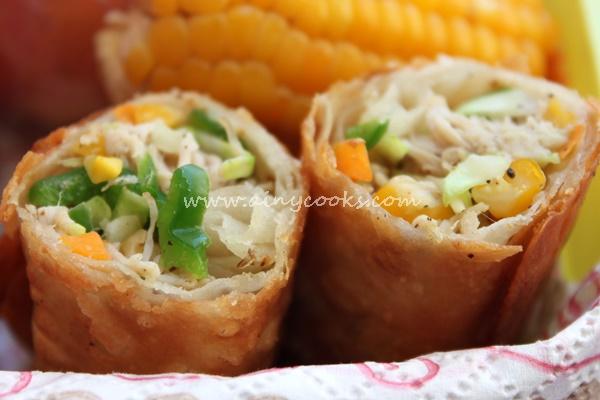corn rolls up m