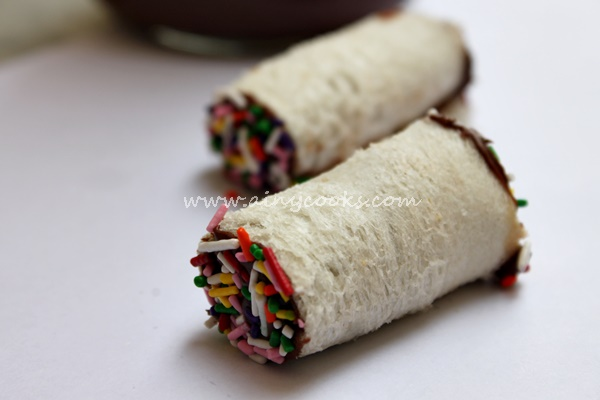 fairy bread roll m