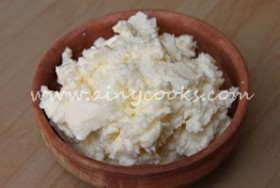 HOME MADE BUTTER FROM MALAI/CREAM