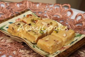 BARFI- MILK FUDGE