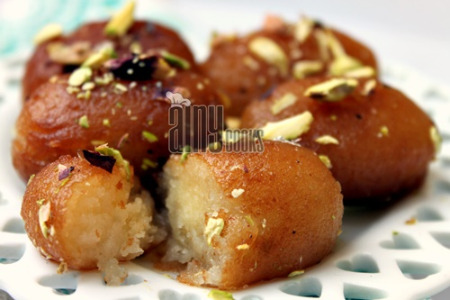 how to make gulab jamun syrup
