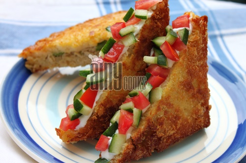 fried sandwich d