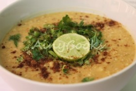 CHICKEN OATS HALEEM