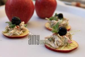 salad on apple f