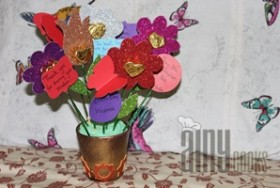 FOMIC FLOWER CHOCOLATE POT
