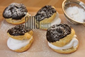 CREAM PUFFS OR ECLAIRS OR PROFITEROLES