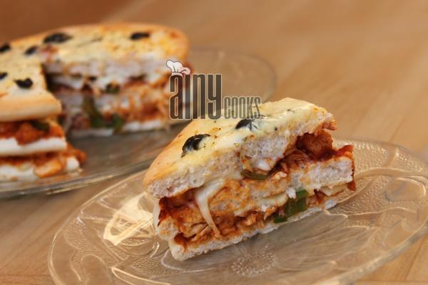pita piza cake m