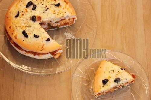 pita pizza cake d
