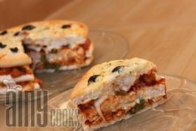 PITA PIZZA CAKE