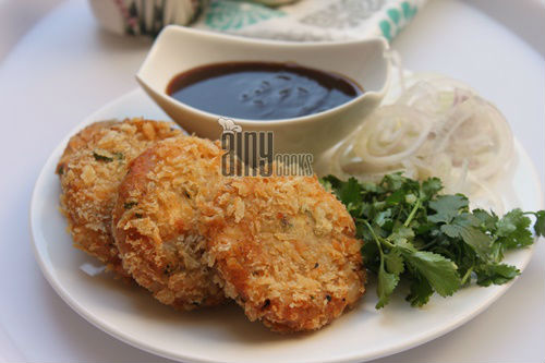 tandori chicken cutlets d
