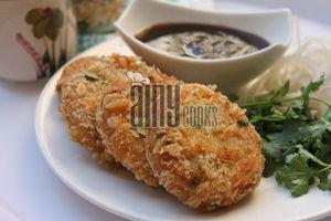 tandori chicken cutlets f