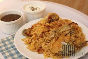 CHICKEN KABSA RICE