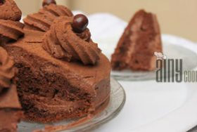 CHOCOLATE MALTESERS CAKE
